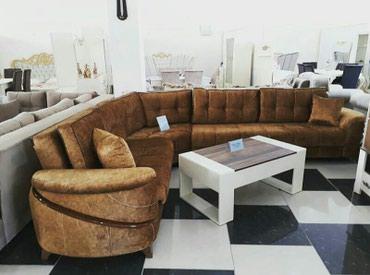 Bakı şəhərində Kunc divan,Fabrik istehsali. acilan bazali. olcu 345x215.
