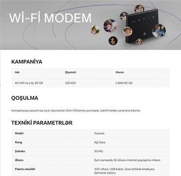 mi wifi repeater - Azərbaycan: 4G Wifi modem