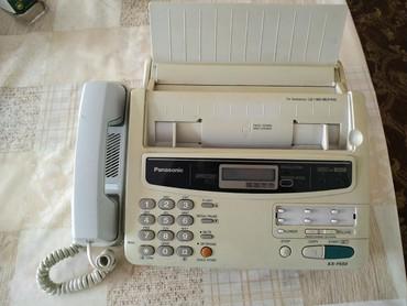Купить сотовый телефон бу - Кыргызстан: Факс, рабочий, сделан в Японии. Даже бумага осталось внутри. Состояние