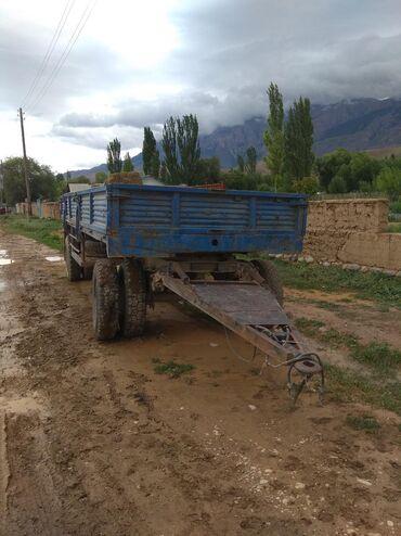 Купить прицеп самосвальный для камаза бу - Кыргызстан: Продаю прицеп состояние отличное + запаска