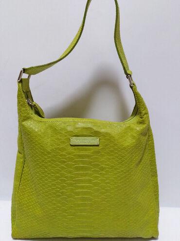 TOSCA BLU velika original kožna torba,prirodna vrhunska