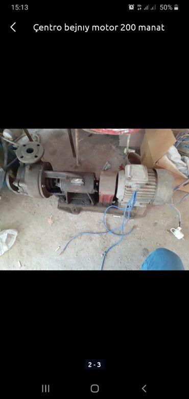 Centrobejnıy motor