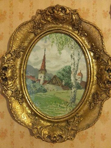 Vilerovi gobleni cetiri godisnja doba,original platno i sitan - Kikinda