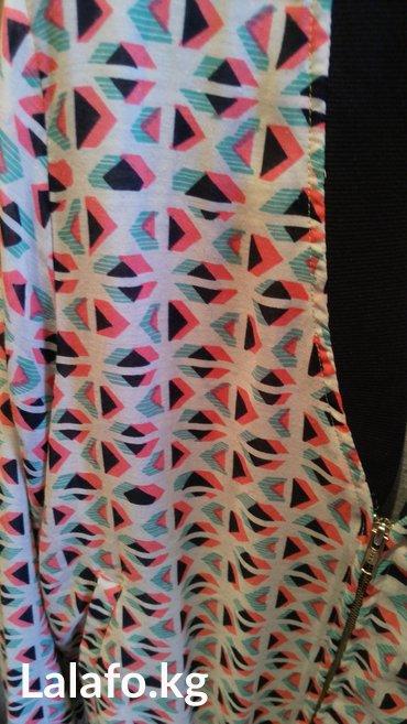 Бомбер. Очень мягкий, приятная ткань. Размер свободный. Надевали 1раз в Бишкек - фото 2