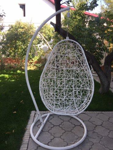 Продаю подвесные кресла. 1-2 -ух местные. Коричневого и белого исполне в Бишкек