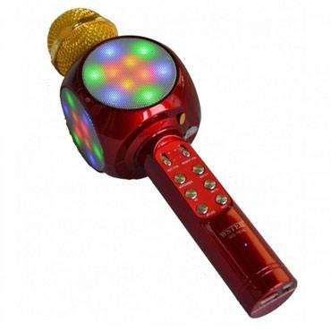 Bakı şəhərində Blutuz karaoke mikrafon