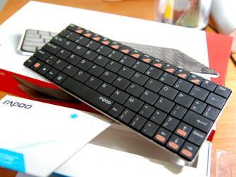 Keyboard Rapoo Bluetooth UltraSlim Keyboard (Android) E6500Texniki