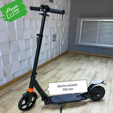 İdman və istirahət Xırdalanda: ️Məhsul:Electro Scooter.️Yaş həddi:5-15 yaş.️Çəki