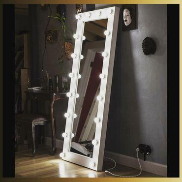 курсы 1 с бухгалтерия в Кыргызстан: Зеркало с лампочками. С доставкой на дом. Размер 1.8м×0.8м