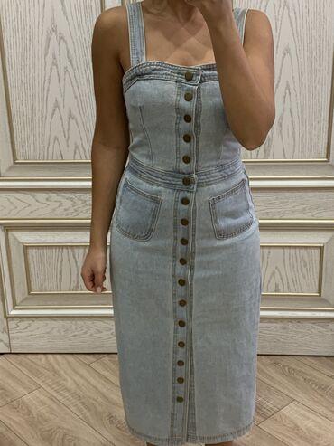 платье на повседневку в Кыргызстан: Очень эффектное джинсовое платье как на выход так и на повседневку!