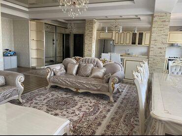 Долгосрочная аренда квартир - 3 комнаты - Бишкек: 3 комнаты, 117 кв. м С мебелью