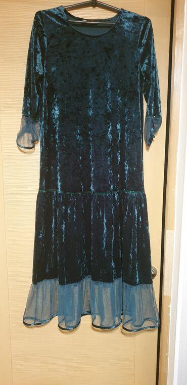 527 объявлений: Продаю турецкое изумрудное, красивое платье на вечер! Материал