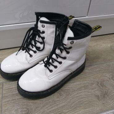 инверсионные ботинки бишкек in Кыргызстан   ГРУЗОВЫЕ ПЕРЕВОЗКИ: Продаю бу стильные ботинки. Можно под штаны и под платья. Кожа зам. Не