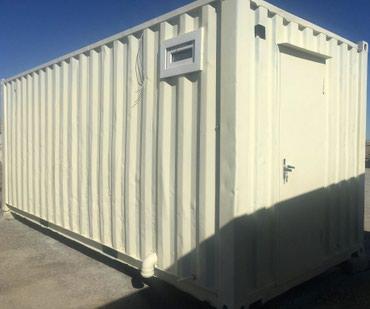 40 futluq dniz konteyneri - Azərbaycan: Konteyner SATILIR.Uzunu 6m Eni 2m 40sm.Steklovatla izolasiya olunub