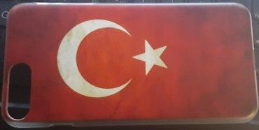 Türkiyə bayrağı. İphone 7 üçün plastmas kabura