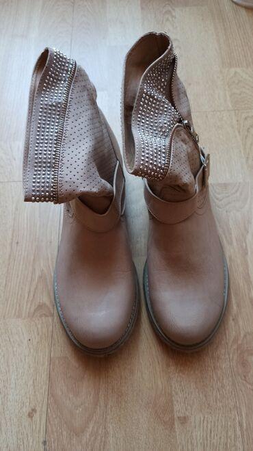 Zneske pantalone legend - Srbija: Zenske cizme,nove! Velicina je 41 cm