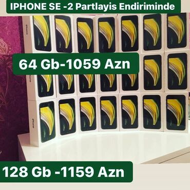 apple iphone se - Azərbaycan: Yeni iPhone SE 128 GB Qara