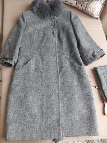 чистка обуви бишкек в Кыргызстан: Продаю классное пальто от Loreta. С натуральным мехом. Чистый кашемир