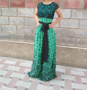 зеленое платье большого размера в Кыргызстан: Платье Вечернее 0101 Brand XL
