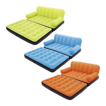 Мебель - Кыргызстан: Надувной диван-кровать серии ulti-max air couch изготовлен по технолог