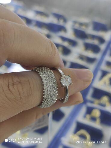 Колечки 2в1Серебро 925 пробыДизайн Италия камни фианитыРазмеры