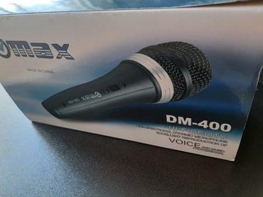 Xırdalan şəhərində Mikrofon Max DM 604.Şunurlu mikrofon  vokal ,