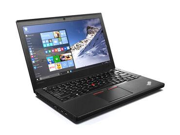 Lenova X260Cpu core i5-6300 (6-ci nesil) 2.4 GHzRam 8 GB DDR4SSD 120