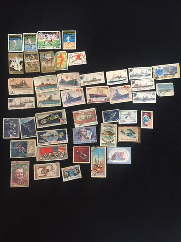 Марки - Бишкек: Продаю марки  Советских времён