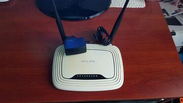 Tp link tl-wr841nd.wirelees ruter 300mbps. U odlicnom je stanju mnogo
