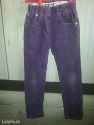 Somotske pantalonice za devojcice uzrasta 4-5 godina u dobrom stanju. - Vrsac