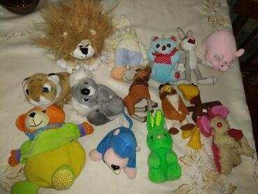 Маленькие мягкие игрушки. Удобны для маленьких детишек. Каждая 3м
