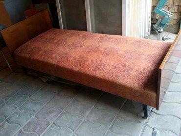 Продаю односпальную кровать с матрасом в хорошем состоянии есть 2шт, к в Бишкек