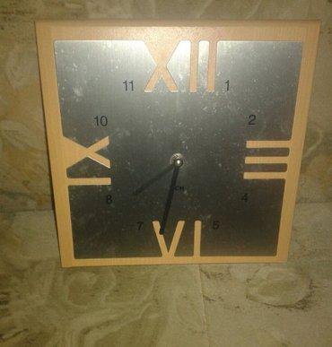 Zidni sat, interesantan, ispravan.. - Sjenica