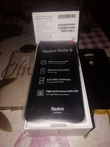Электроника - Ашагы-Гюздек: Б/у Xiaomi Redmi Note 9 128 ГБ Зеленый