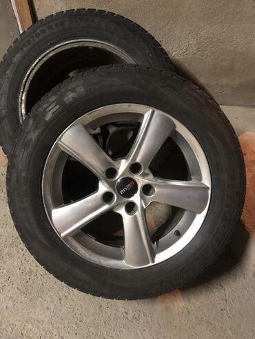 r16 диски купить в Кыргызстан: 3 штуки R16 от тойоты хонда лексус 5x114,3Или куплю один штук точно