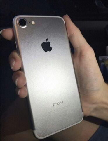 Apple Iphone - Бишкек: Б/У iPhone 7 32 ГБ Серебристый