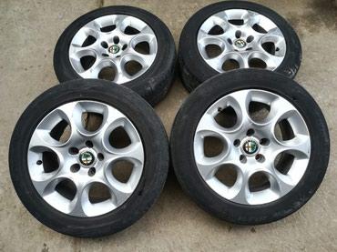 Alfa-romeo-75-2-mt - Srbija: Aluminijumske felne za Alfa Romeo 159 R16 5x110Originalni polovni