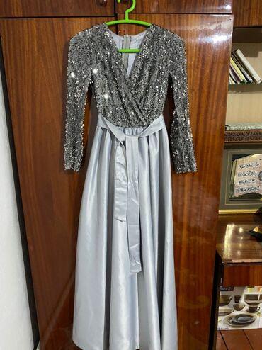 вечерние платье в пол в Кыргызстан: Продаю вечернее платье длина в пол, размер 44