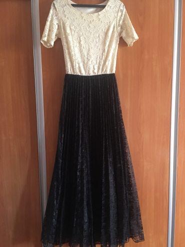 Вечернее платье. Сидит по фигуре . Имеется 2 пояса.Размер 44. () в Бишкек