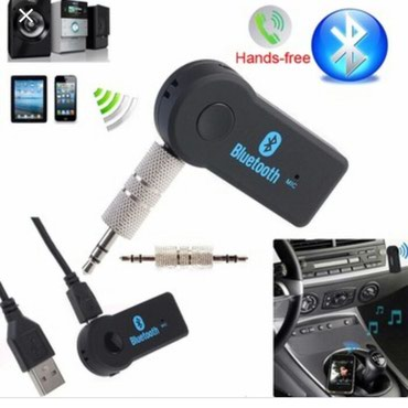 bluetooth aux - Azərbaycan: Bluetooth AUX. Maşının Aux yerine taxilir. Bluetooth ile telefona
