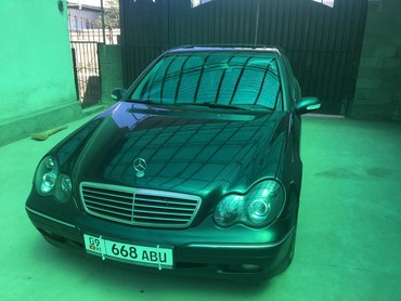 Mercedes-Benz в Кыргызстан: Mercedes-Benz C-class AMG 2 л. 2001