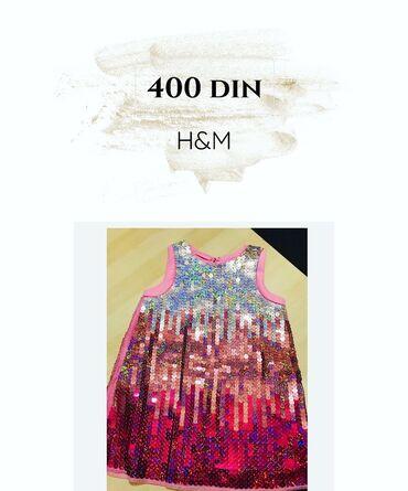H&M haljinica Velicina 92 nova Cena 400 din