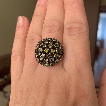 Кольцо, серебро 925, размет 17
