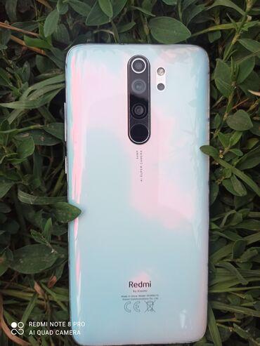 Электроника - Узген: Xiaomi Redmi Note 8 Pro   64 ГБ   Белый   Гарантия, Сенсорный, Отпечаток пальца