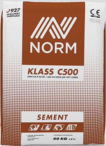 Sement | Norm | M-500 | Zəmanət