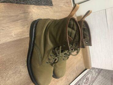 Модные ботинки известной фирмы Dr. Martens. Те кто разбираются в брен