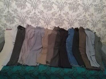 Набор брюк и джинс, 17 штук, размер 48-50
