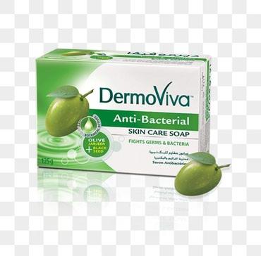 Bakı şəhərində Dermoviva zeytun sabunu: antibakteriyal təsiri var. Əlləri və
