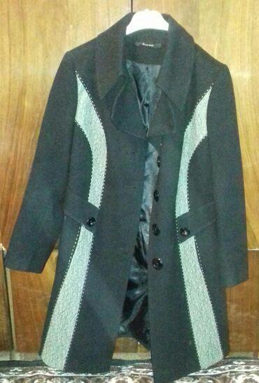 Paltolar Gəncəda: Qadın yun palto az işlənmiş ölçü 46 qiymət 12