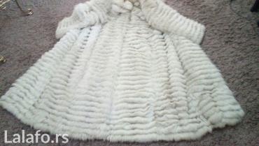 BUNDA***AKCIJA*** PRAVO KRZNO Raskosna bunda od polarne lisice rad